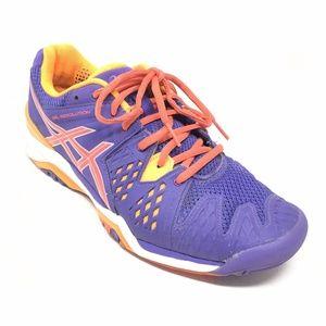 Women's Asics Gel-Resolution 6 Tennis Shoes Sz9.5M
